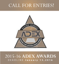 Call For Entries -2015-16 ADEX Awards