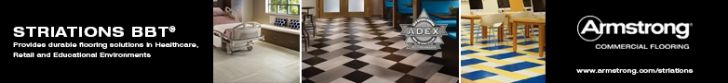 STRIATIONS BBT®: Provides durable flooring solutions in Healthcare, Retail and Educational Environments