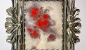 Red Marble Antique Mirror | Flash® Finish Frame