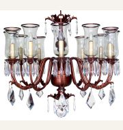 CL44605 Spanish Hurricane Chandelier (12 Arms)