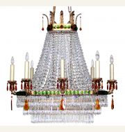 CL74856 Casablanca Chandelier (8 Arms) (Elongated)