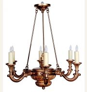 CL99851 Chateau Chandelier
