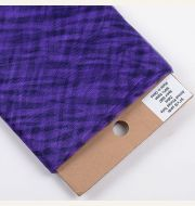 Zebra Purple Animal Print Tulle 54 Inch x 10 Yards - Favor Crew
