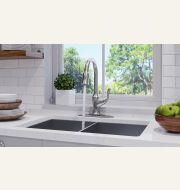 Deming Pull-Down Kitchen Faucet