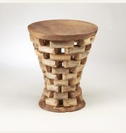 43885-TK Teak Accent Table