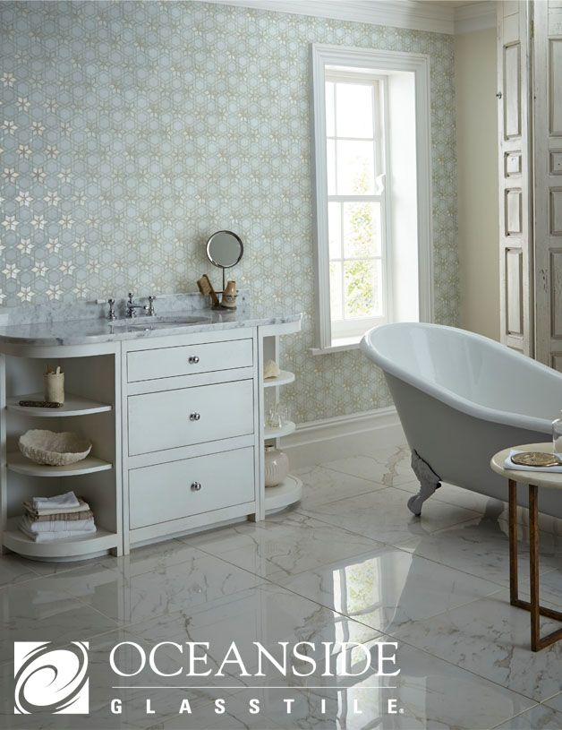 Oceanside Glasstile Bespoke Bathroom