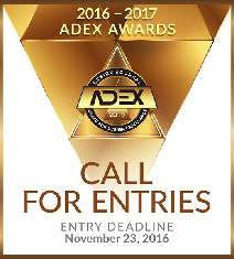 Call For Entries -2016-17 ADEX Awards