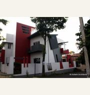 Anoop\\\'s Duplex House In Bangalore by Ashwin Architects