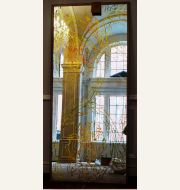 Historic Omni Severin flower and vine mirrors