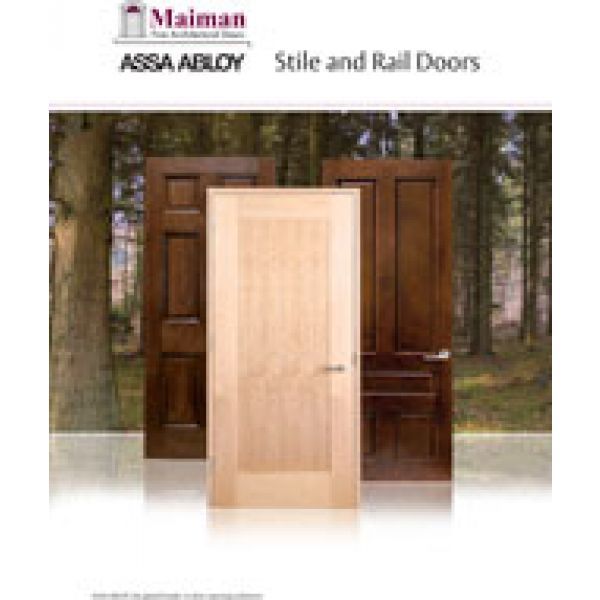 Adex awards design journal archinterious maiman stile for Wood stile and rail doors