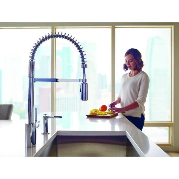 Adex Awards Design Journal Archinterious Moen Align Spring - Moen align kitchen faucet