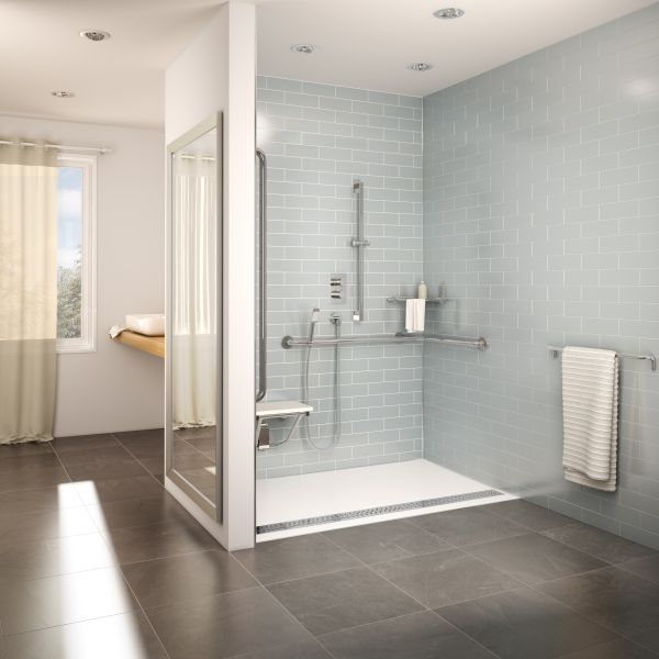 Adex Awards Design Journal Archinterious FLEURCO ADaptek ADA - Ada compliant bathroom tile